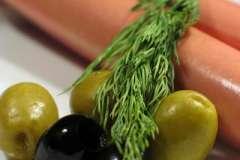 """Вкусные рецепты: Куриное филе в горчичном соусе, Салатик """"Комплимент"""", Валованы с икрой"""